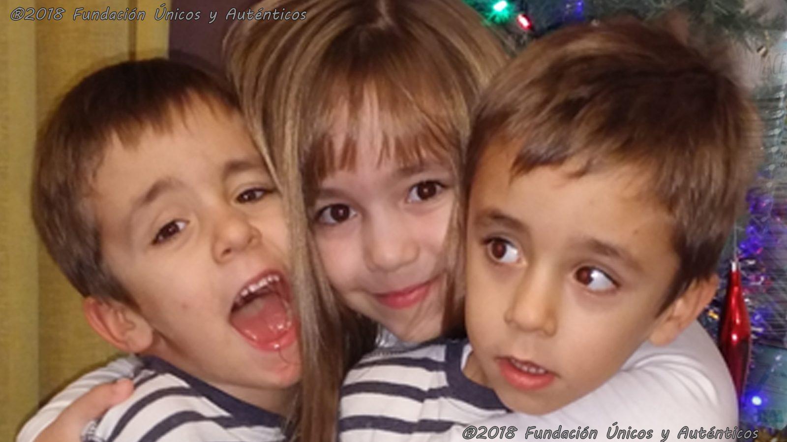 Sara, Ricardo y Roberto