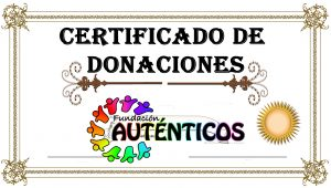 CERTIFICADO DONACIONES 2