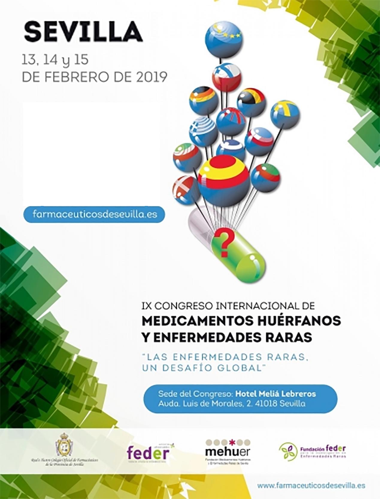congreso enfermedades raras 2019 sevilla